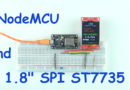 NodeMCU and 1.8″ SPI ST7735 display