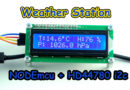 Weather Station NODEmcu i2c HD44780